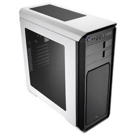 Aerocool Aero-800 Gaming Case with Window - White