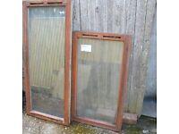 Windows - wood double glazed