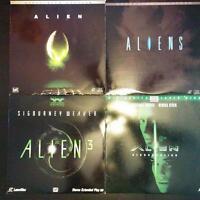 Alien Movies 4 Laserdiscs