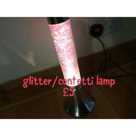CONFETTI LAMP