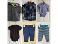 Baby boy bundle 3-6 mths NEXT 8 items