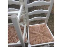 4 kitchen chairs in vgc