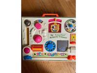 Fisher Price Activity Centre retro toy