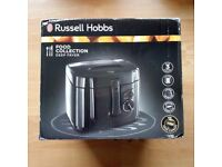 Russel Hobbs Food Collection Deep Fryer Black Maxi Fryer 2.5 Litres Used