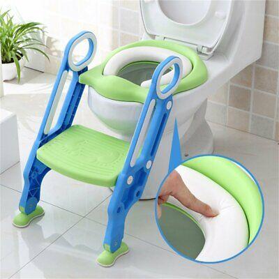 Riduttore WC per Bambini con Scaletta Pieghevole Kit Toilette Trainer Step Up