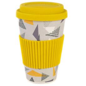 Cambridge Eco-Friendly Bamboo Travel/Coffee Mug