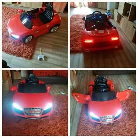 12 V battery powered car
