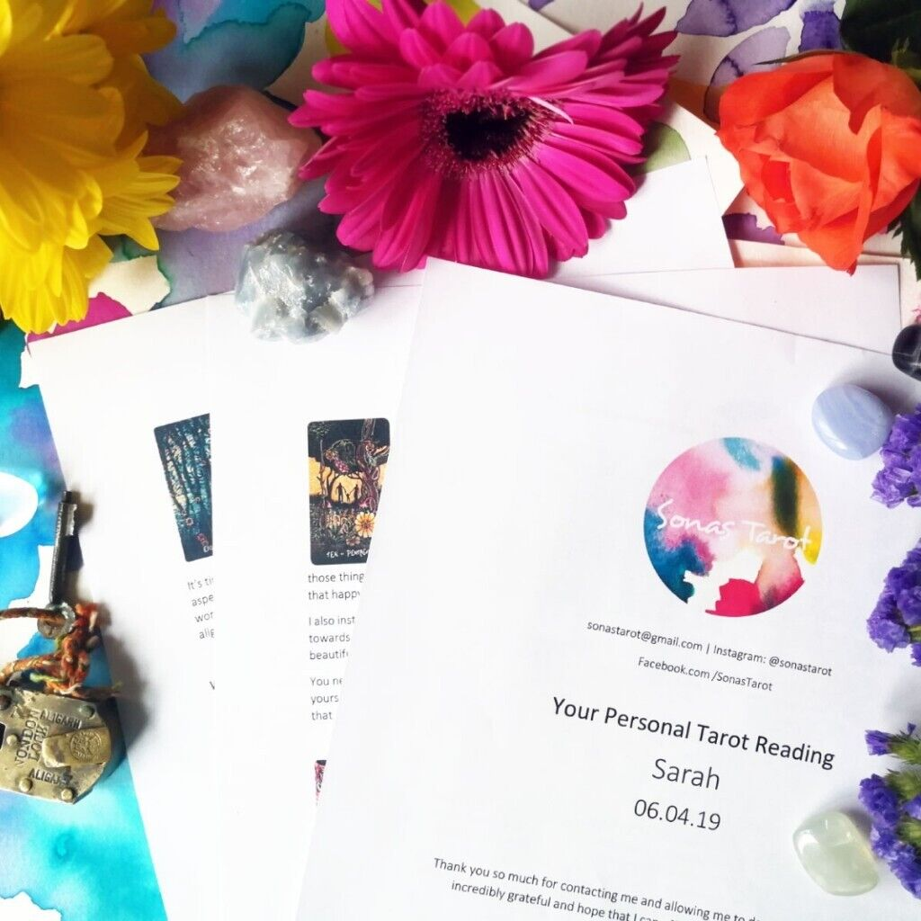 5 - Introductory Offer Email Tarot Reading | in Watford