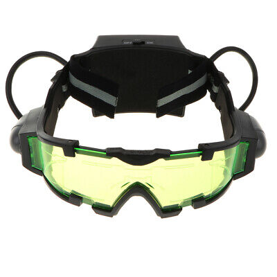 Led Light Safety Goggles Riding Glasses Eyewear Lab Spectacles Outdoor Games
