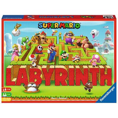 RAVENSBURGER Kinderspiel Super Mario Labyrinth Familienspiel Brettspiel ab 7