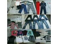 Large bundle of boys clothes 6 - 7 & 7 - 8
