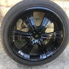Alloy wheels 22in