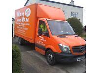 Man and Van Hire - Richard Bevan and Mercedes Sprinter Van