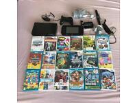 Nintendo Wii U game console+games