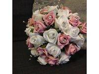 Handmade silk wedding flowers