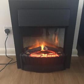 Electric Dimplex wood effect inset fire