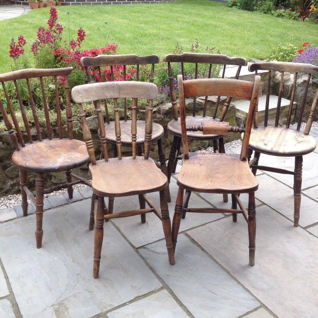 Original Vintage Farmhouse Chairs In Nuneaton Warwickshire Gumtree
