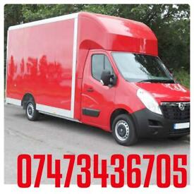 MAN&VAN HIRE CHEAP REMOVAL SERVICES HOUSE/FLAT/OFFICE/ROOM/FURNITURE DELIVERY'S ASAP