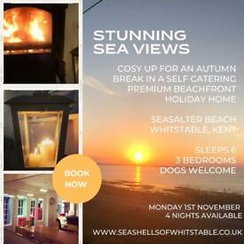 Stunning Sea Views Holiday Cottage Kent