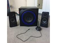 Trust Phone/PC/PS3/XBOX360 Speakers and Subwoofer