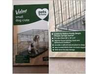 Value Small Dog Crate 30 x 19 x 21 inch 2 Doors Colapsable
