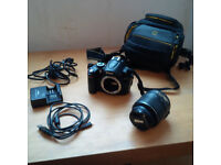 Nikon d5000 full kit and learners book