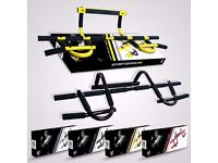 We R Sports® Door Gym Exercise Iron Man Bar Chin Up Pull Up Sit Up Fitness Workout Bar