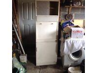 Remploy Retro tall kitchen larder cupboard