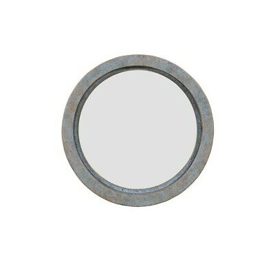 Danya B. Decorative Round 16-Inch Wall Mirror with Antique Copper Metal (Round Copper Framed Mirror)