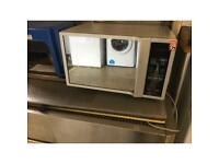Daewoo silver mini oven with microwave function