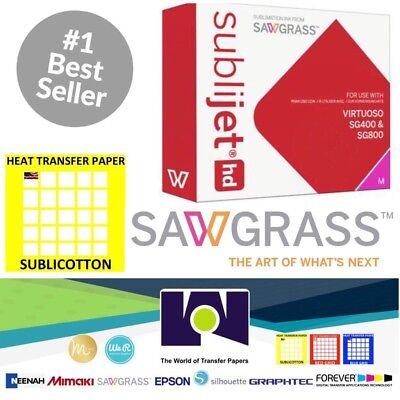 Sawgrass Virtuoso Sublimation Ink Cartridge Sg400sg800 Magenta20sh Sublicotton