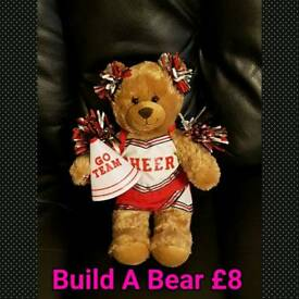 Build A Bear Cheerleader