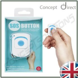 SOS Panic Personal Alarm Keyring. App Based Security with Location✔iOS✔Android✔