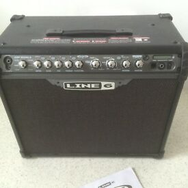 Line 6 Spider 75 watt Amplifier
