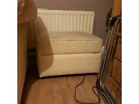 sofa , chair and foot stool