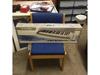 Electric keyboard available