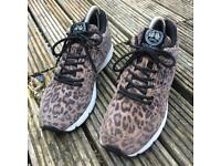 Gourmet leopard print trainers size 5.5