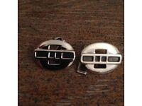 Solid Sterling Silver Cufflinks
