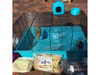 HAMSTER CAGE BUNDLE FOR NEW OWNERS