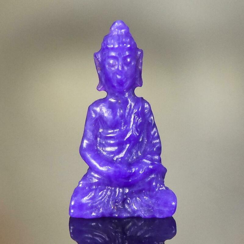 Sculpture of the Buddha Natural Purple Gel Sugilite Gemstone Carving 2.35 cts