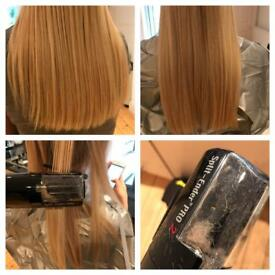 Mobile hair ends remover (with split trimmer)