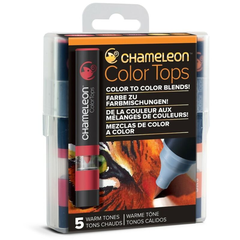 Chameleon Color Tops Warm Tones