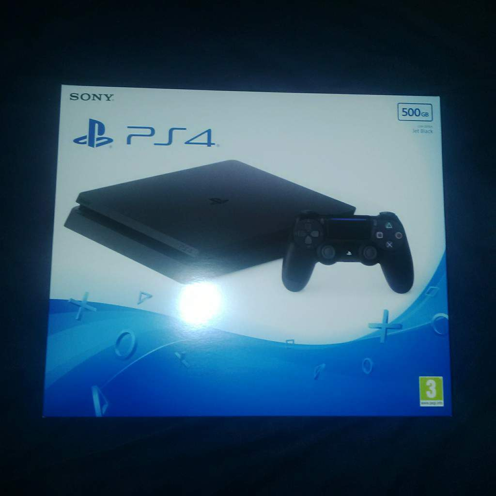 sony playstation 4 box. playstation 4 slim 500 gb console brand new in box official sony ps4 b