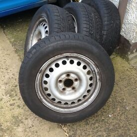 Connect rims +tyres