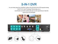 CCTV Security Camera System FLOUREON 8CH AHD DVR (1080N ONVIF) 4x 960P Outdoor Bullet C
