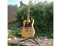 2014 SQUIER CLASSIC VIBE ( CV ) 50s TELECASTER - FLAMED MAPLE! AMP & GIGBAG