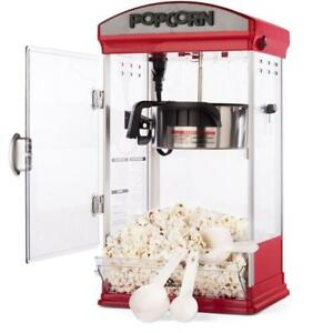 NEW Carnüs Home Popcorn Machine | Features Vintage popcorn maker with 4 containers
