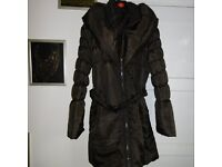 Womens Brown winter coat size XL (16-18)