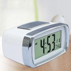 Digital LED Alarm Clock Bedsides Alarm Clock Battery Operated Tabletop Clock