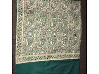 Urgently selling Green asian shawl